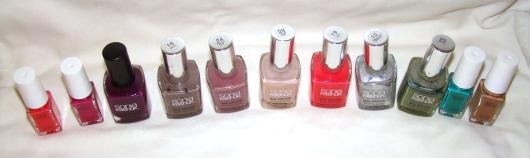 sonia kashuk nail polish collection