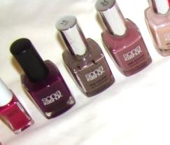 sonia kashuk nail polish collection purples