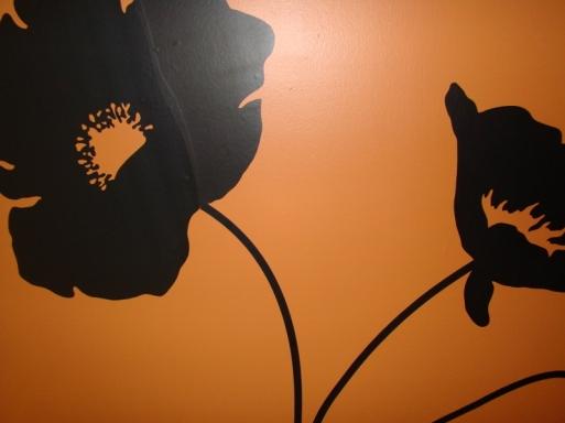 wall tattoo stencil, marshalls wall art