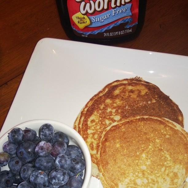trim heatlhy pancakes