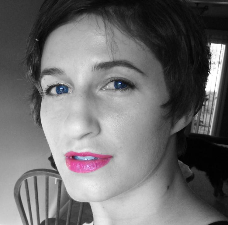 matte pink lips revlon just bitten lipstain in lovesick
