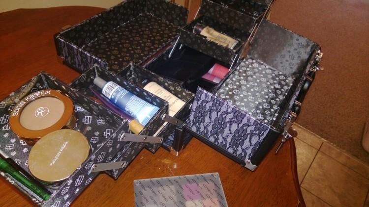 kaboodle makeup professional case sonia kashuk paulas choice inglot makeup storage