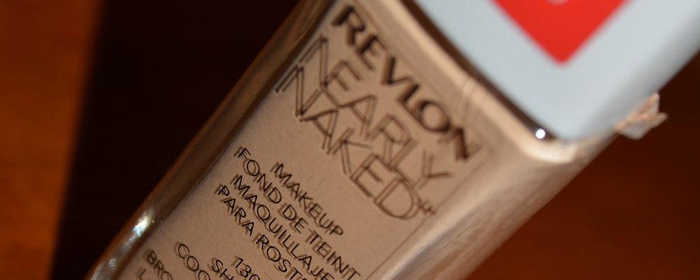 revlon nearly naked foundation 130 shell