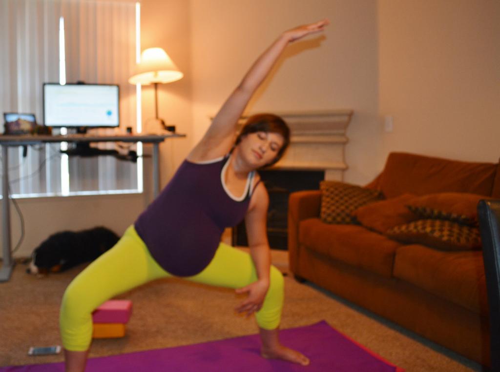 10 of my Favorite Prenatal Yoga Poses