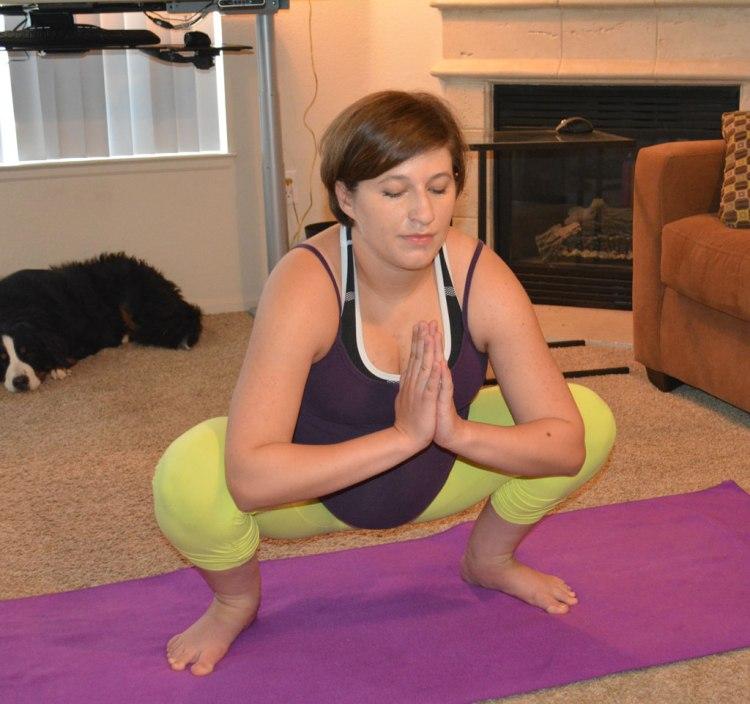 yogi squat